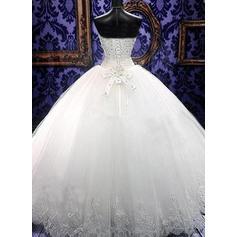 calf length lace wedding dresses
