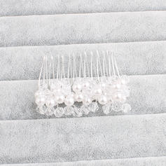 """Combs & Barrettes Wedding/Special Occasion/Party Imitation Pearls 2.17""""(Approx.5.5cm) 1.77""""(Approx.4.5cm) Headpieces"""