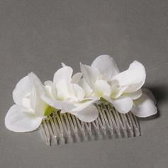 """Combs & Barrettes/Flowers & Feathers Wedding/Special Occasion/Party 3.15""""(Approx.8cm) 1.97""""(Approx.5cm) 1.18""""(Approx.3cm) Headpieces"""
