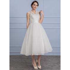 satin wedding dresses a line