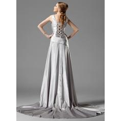 aftonklänningar spets klänning lång