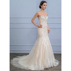 satin knee length wedding dresses
