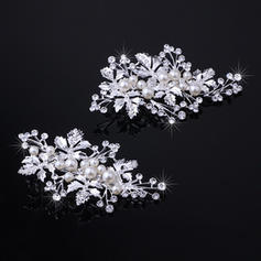 "Hairpins Wedding/Special Occasion Rhinestone/Alloy 3.94""(Approx.10cm) 2.17""(Approx.5.5cm) Headpieces"