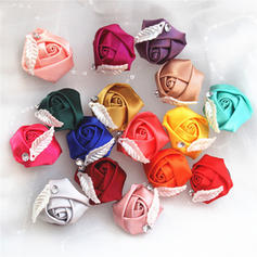 """Boutonniere Free-Form Wedding/Party/Casual Satin 1.97"""" (Approx.5cm) Wedding Flowers"""