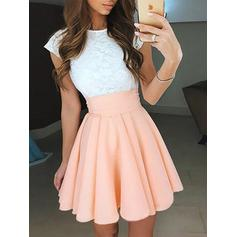 Short/Mini A-Line/Princess Chiffon Sleeveless Homecoming Dresses