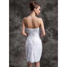 vestidos de novia con sirena en la parte superior del halter