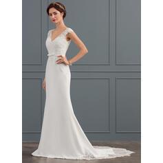 barato vestidos de noiva sereia sob 100