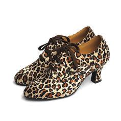 Femmes Swing Talons Escarpins Satiné Chaussures de danse