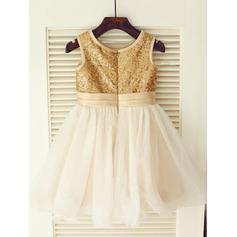 tea length flower girl dresses