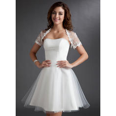 General Plus Sweetheart A-Line/Princess - Tulle Wedding Dresses (002211267)