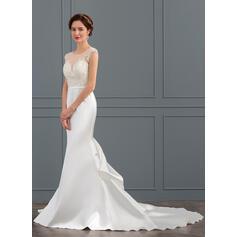 mère blanche des robes de mariée