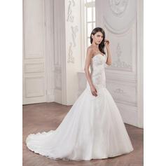 simple elegant cream wedding dresses