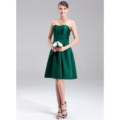 vestido de dama de honor corto delantero largo espalda