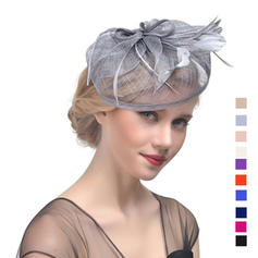 Cambric With Feather Fascinators Charming Ladies' Hats