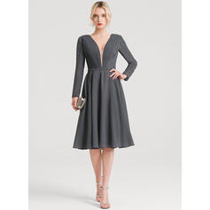 fun cocktail dresses with sleeves
