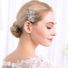 "Combs & Barrettes Wedding/Special Occasion/Party Alloy 2.95""(Approx.7.5cm) 2.37""(Approx.6cm) Headpieces"