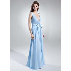 ¡Vestidos de dama de honor azules y dorados