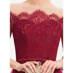 robes de soirée pour filles deux pièces