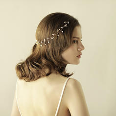 "Headbands Wedding/Special Occasion/Party Rhinestone/Imitation Pearls 14.57 ""(Approx.37cm) 1.18""(Approx.3cm) Headpieces"