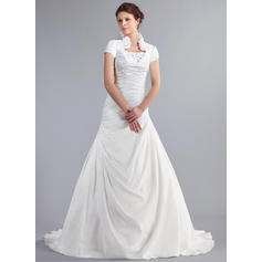 vestidos de novia de encaje con mangas