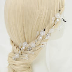 """Hairpins Wedding/Special Occasion/Party Alloy/Imitation Pearls/Beads 3.94""""(Approx.10cm) 2.56""""(Approx.6.5cm) Headpieces"""