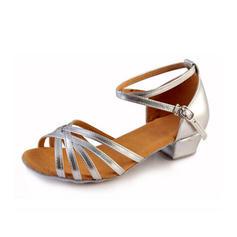 Femmes Latin Talons Similicuir avec Boucle Chaussures de danse