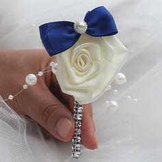 "Boutonniere Free-Form Wedding/Party Satin 1.97""(Approx.5cm) Wedding Flowers"