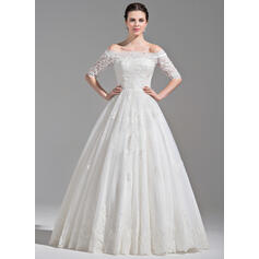 simple light pink wedding dresses