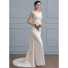 satin wedding dresses plus size