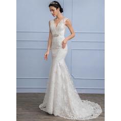 simples vestidos de novia de manga corta