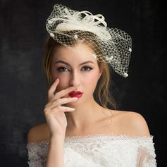 Lace/Linen With Tulle Fascinators Elegant Ladies' Hats