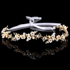 "Headbands Wedding Alloy/Imitation Pearls 13.78""(Approx.35cm) 1.18""(Approx.3cm) Headpieces"