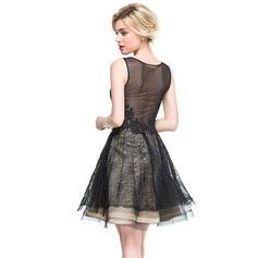 sheer black cocktail dresses
