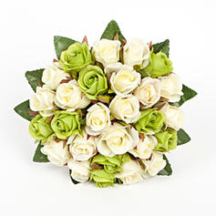 """Bridal Bouquets Round Wedding/Party Artificial Silk 9.84""""(Approx.25cm) Wedding Flowers"""