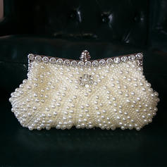 "Clutches/Satchel Ceremony & Party Imitation Pearl Gorgeous 9.06""(Approx.23cm) Clutches & Evening Bags"