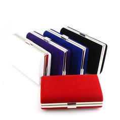 Handtaschen/Umhängetasche Hochzeit/Zeremonie & Party Wildleder Schnippen Verschluss Elegant Clutches & Abendtaschen