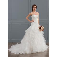 lace vestidos de noiva sereia