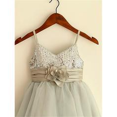 aline flower girl dresses