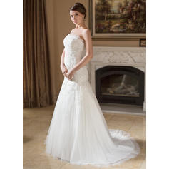 cheap cream colored wedding dresses