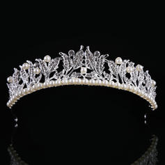 "Tiaras Wedding/Special Occasion Alloy/Imitation Pearls 1.57""(Approx.4cm) 8.66""(Approx.22cm) Headpieces"