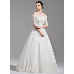 hvide boho brudekjoler