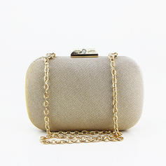 Clutches/Wristlets Wedding/Ceremony & Party Sparkling Glitter Clip Closure Elegant Clutches & Evening Bags