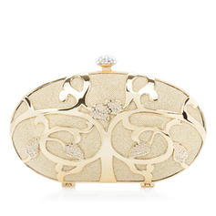 Clutches Wedding/Ceremony & Party Stainless Steel Clip Closure Fashional Clutches & Evening Bags