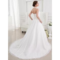 babydoll plus size wedding dresses