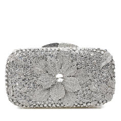 Clutches/Bridal Purse/Luxury Clutches Wedding/Ceremony & Party Crystal/ Rhinestone Magnetic Closure Shining Clutches & Evening Bags