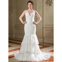 vestidos de novia que fluyen