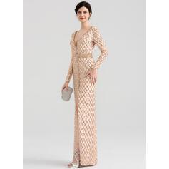 floral evening dresses long