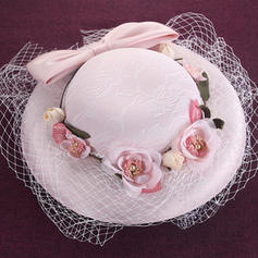 Silk With Bowknot Beret Hat Beautiful/Gorgeous Ladies' Hats