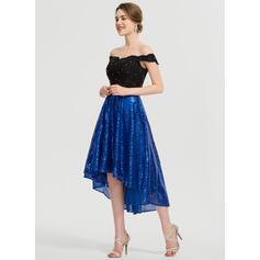 robes de bal longues pour dames courtes