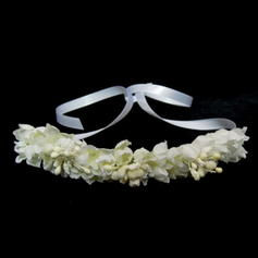"Flower Girl's Headwear Wedding Satin 15.75""(Approx.40cm) 1.97""(Approx.5cm) Headpieces"
